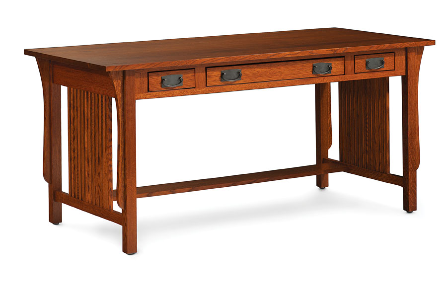 Office desk stores Office Set Simply Amish Prairie Mission Desk Office Furniture Sids Home Furnishings